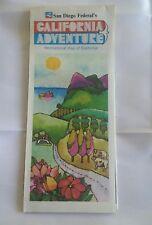 1977 San Diego Federal's California Adventure Recreational Map