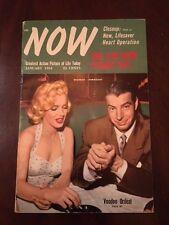 "1954 Marilyn Monroe & Joe DiMaggio, ""NOW"" Magazine"