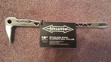 Stiletto SSCLW 12-2 de 12 Pulgadas De Acero Inoxidable portarruleta Extractor de clavos con Dimpler Nuevo