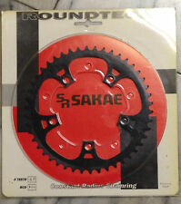 SR SAKAE CHAINRING ROUNDTECH....46 TEETH.....BCD 110....BRAND NEW IN PKG