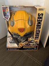 Hasbro Action Figure Bumblebee Voice Changer Mask MINT