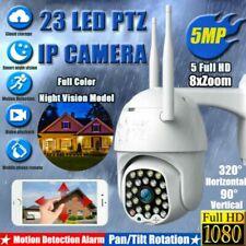 23 LED 1080P WiFi IP CCTV Camera Waterproof Outdoor PTZ Security 8X Zoom IR DVR