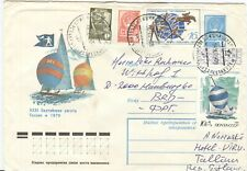 Russia Olympische Spiele Olympic Games 1980 stationery Baltic Regatta Tallin