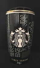Starbucks Times Square NYC Limited Edition Exclusive Travel Ceramic Mug 12oz NEW