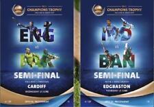 2017 ICC CHAMPIONS TROPHY SEMI-FINALS CRICKET - ENGLAND v PAKISTAN / INDIA v BAN