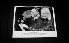 Original 1973 Edgar Winter Duke Ellington Press Kit Photo Playboy Poll Winners