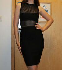 Herve Leger Leroux Couture LL Black Bodycon  Dress Size FR 36 BNWT PRP£1,850