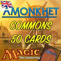 MTG Magic The Gathering Amonkhet AKH Job Lot 50 Common Cards NM/M