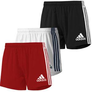 adidas Herren Climacool Short 3-Streifen Base Running Fitness Sportshort Rugby