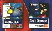 Animated Coral Reef ScreenSaver & Space Discovery PC-CD - NEW CD in SLEEVE