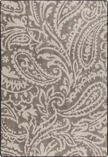 """2x8 Milliken Cashmira Taupe Casual Floral Paisley Area Rug - Approx 2'1""""x7'8"""""""