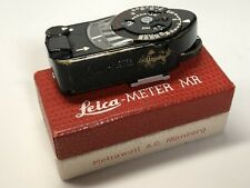 Leica - Meter MR-4 - Factory Black Paint Enamel- M1, M2, M3, M4