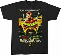 WWF WWE Wrestlemania VI 6 Hulk Hogan vs. Ultimate Warrior heavi cotton