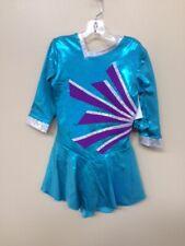 "New ""Blue Moonbeam"" skating/ ice Dance dress size Child Medium"