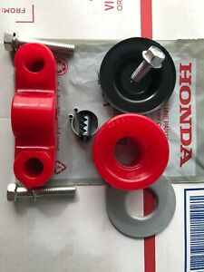NEW Genuine Honda shift linkage hardware pin clip + Energy Suspension bushing