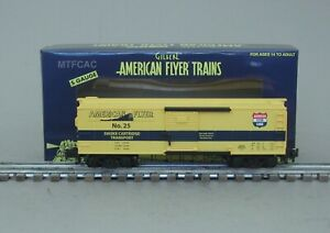 Lionel American Flyer 6-48839 No. 25 Smoke Cartridge Box Car