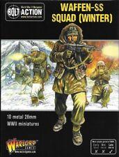 ** Nuevo Y en Caja ** Warlord Games Perno acción Waffen SS escuadrón de invierno alemana