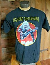 VINTAGE Iron Maiden T-Shirt | Size Large | Black | British Heavy Metal gildan L