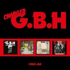 Charged Gbh - 1981-84 [New CD] Boxed Set, UK - Import