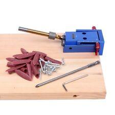 Screwdriver Pocket Plugs Screws Aluminum Hole Jig Kit Kreg Wood Saw 9.5mm 150mm