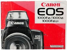 Canon Bedienungsanleitung CANON EOS 1000FN / 1000N / 1000FNQD User Manual (X2555