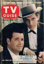 1959 TV Guide January 17 - Maverick; Captain Kangaroo; Lucy and Desi; J Garner