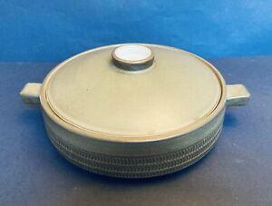 Denby Chevron Lidded Casserole Dish