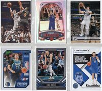 2019-20 Panini Chronicles Basketball LUKA DONCIC (6)CARD LOT