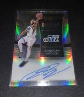B10,422 - 2018-19 Select In Flight Signatures #21 Donovan Mitchell Autograph /99