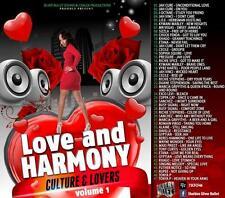 REGGAE LOVERS ROCK & CULTURE  LOVE & HARMONY MIX CD VOL 1