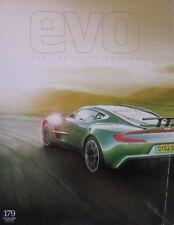 EVO magazine 02/2013 featuring Lancia Delta Integrale, BMW, Aston Martin,Porsche