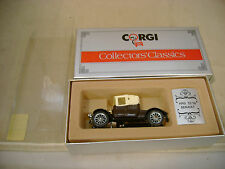 1985 MADE IN GREAT BRITAIN CORGI #C862/2 BROWN 1910 12/16 RENAULT MIB