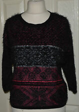 Women's Thin Knit Scoop Neck None Acrylic Jumpers & Cardigans