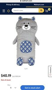 Cat Huggeez Huggable Cushion, Warm Ultra soft Plush By Intelex
