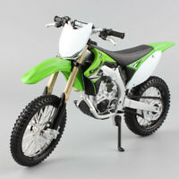 Maisto 1/12 Kawasaki KX450F diecast bike dirt Motocross model motorcycle toy kid