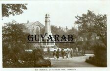 War Memorial, Saint George's Park. - Great Yarmouth RP