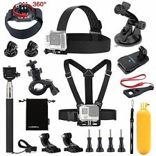13-IN-1 ESSENTIALS ACCESSORIES KIT FOR GOPRO HERO 5/4/3/2/1 SESSION HERO LC