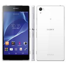 Débloqué Téléphone Sony Ericsson Xperia Z2 D6503 16GB Cuatro Nucleos Móvil-Blanc