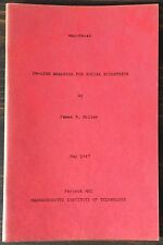 Mit Project Mac: On-Line Analysis For Social Scientists by James Miller (1967)