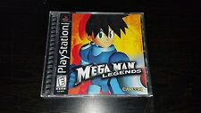 Megaman Legends Capcom Mega Man Black Label Sony Playstation PS1 PSX Complete