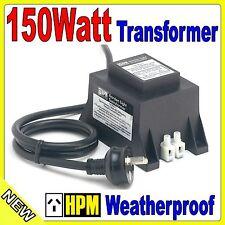 HPM 12V AC 150W Weatherproof Garden Light Stepdown Transformer IP56