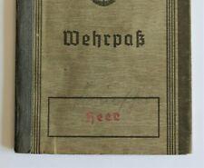 More details for ww2 german wehr pass security btl 972 & 113 leningrad