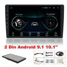 "10.1"" Android 9.1 Quad-core Stereo GPS Navigation Radio Player Double Din WIFI"