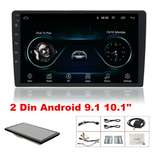 """10.1"""" Android 9.1 Quad-core Stereo GPS Navigation Radio Player Double Din WIFI"""