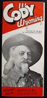 1947 Cody, Wyoming - Buffalo Bill Country Travel Brochure - Cody Stampede
