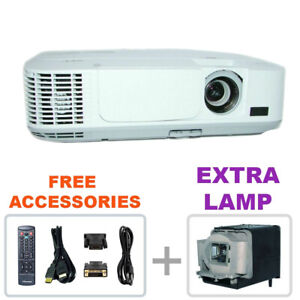 REFURBISHED - NEC NP-M300X M300X 3LCD Projector w/bundle + EXTRA LAMP