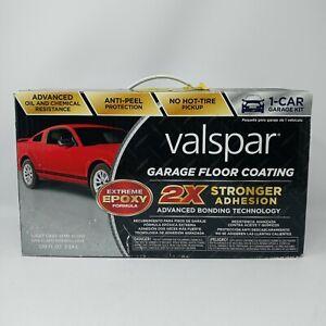 Valspar Garage Floor Coating Kit 2X Stronger Formula Extreme Epoxy Formula