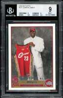 Lebron James Rookie Card 2003-04 Topps #221 BGS 9 (9 9 8.5 9.5)
