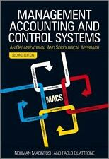 Management Accounting and Control Systems: An Organizational and Sociological A