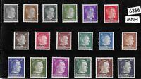 MNH Adolph Hitler stamp set / WWII Third Reich / Occupation Ostland Overprints